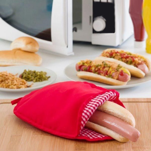 Θήκη μαγειρέματος hot dog σε φούρνο μικροκυμάτων 5b6995e1f30