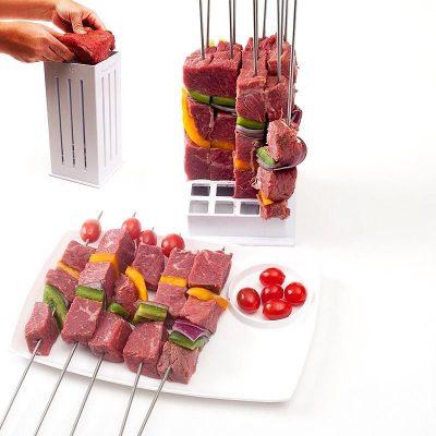 Εργαλείο παρασκευής για σουβλάκια φρούτων και κρεατικών - Meat Dicer/Brochette Express Food Slicer
