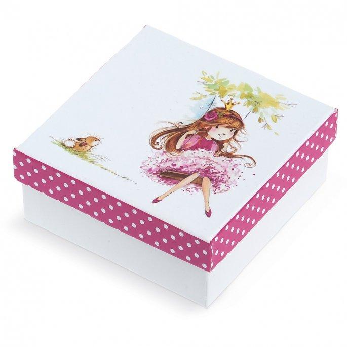 fd1164bdb64d Μπομπονιέρα - Χάρτινο κουτί Κοριτσάκι