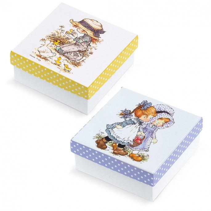 308141ee1621 Μπομπονιέρα - Χάρτινο κουτί Sarah Key