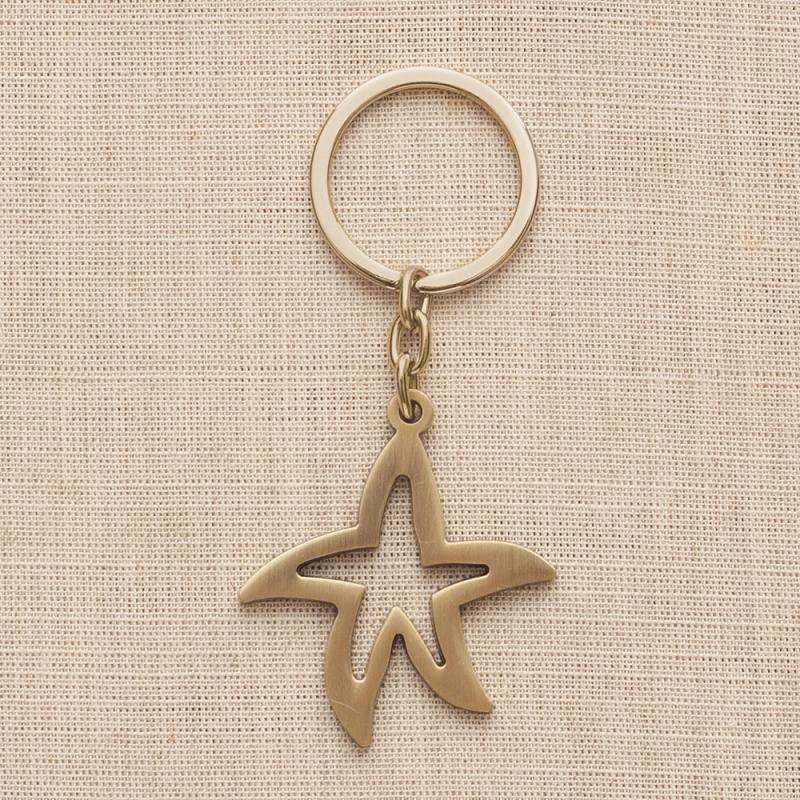 3360b4ba67 Bronze μπρελόκ αστέρι